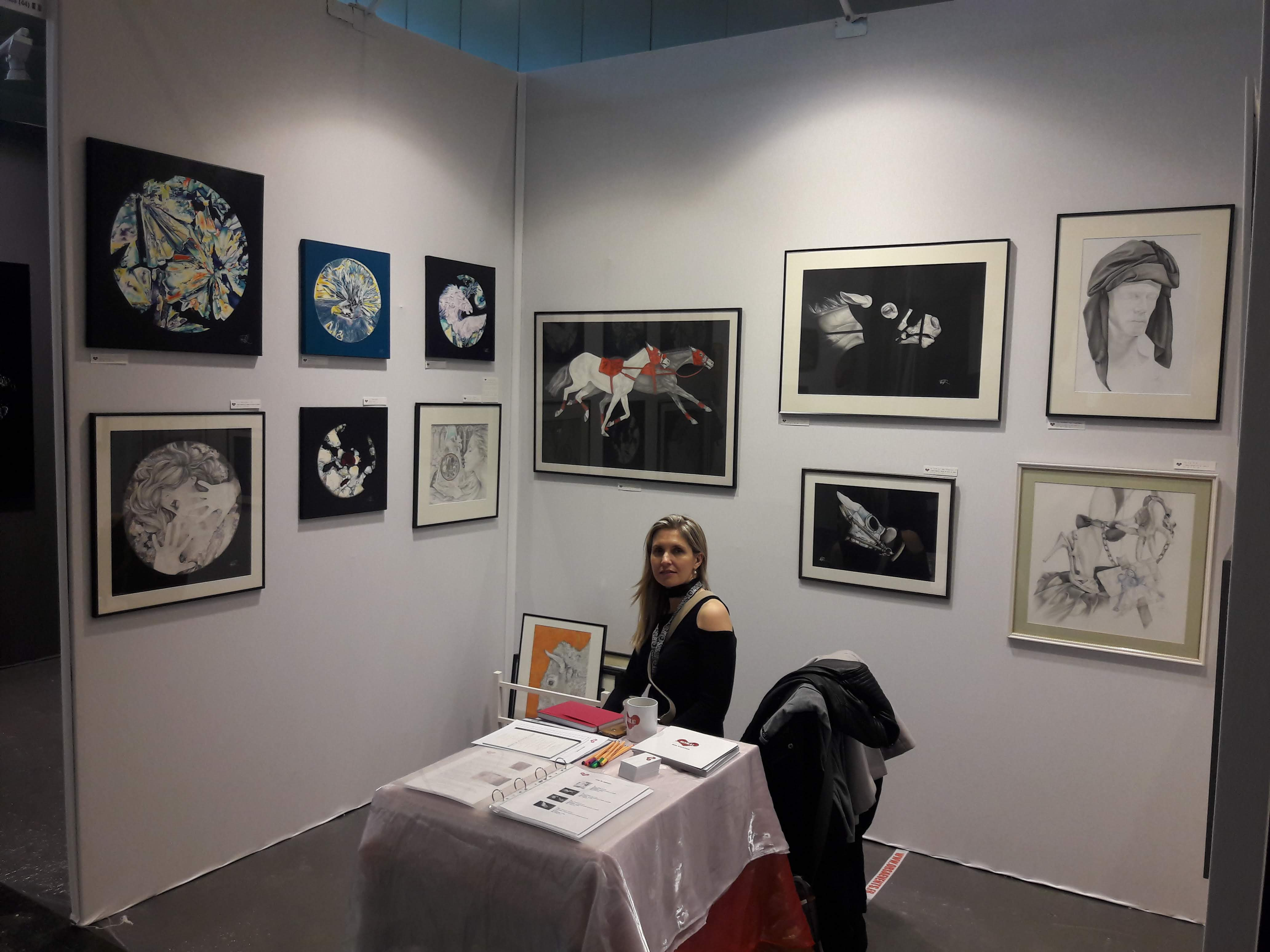 Février 2019 : Salon International d'Art Contemporain ART 3F - Porte de Versailles, Paris